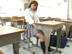 Dreaming Asian School Girl Wakes Up To A Dicking in the Classroom tube porn video