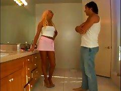 MILF hottie craves big cock