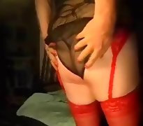 Cyndy playin with her clit and boobies