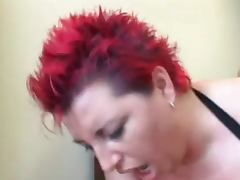 Chubby, BBW, Chubby, Redhead, Fat Anal