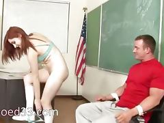 innocent student learns deepthroat