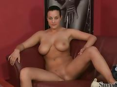 Audition, Audition, Big Tits, Behind The Scenes, Interview, Shaved Pussy