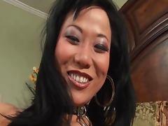 Asian deepthroat slut