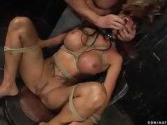 Cony Ferrara the slutty brunette MILF gets dominated