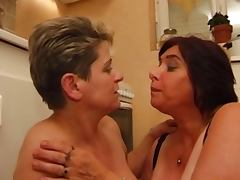 Old chubby french mature with big tits tube porn video