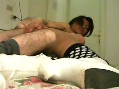 Big ass asian shemale nailed hard