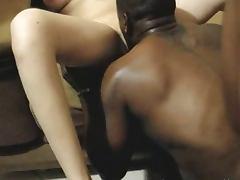 Wives interracial gangbang fun