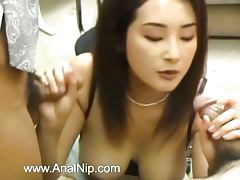 Perfect hairy anus sex from Tokyo