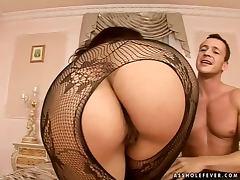 Horny Alexandra Gold gets fucked in her virgin ass