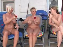 Lesbian mature and grannies tube porn video
