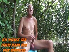 Am Baggersee vor Zuschauern porn tube video
