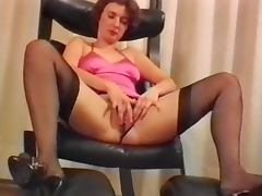 Austrian, Austrian, Dildo, German, Huge, Masturbation