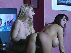 Big tits slut deserves hard spanking