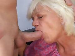 Naughty elder woman remembers when she was 18
