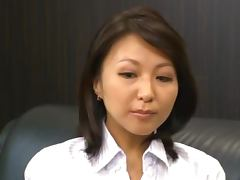 Beautiful Japanese Secretary Reiko Ishino Fucked Hard by Her Boss tube porn video