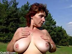 Misti 42 years mature tube porn video
