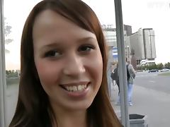 Great Blowjob and Anal Sex in Public with Euro Babe in POV