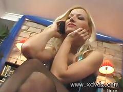 Sexy Blonde MILF Fucking Her Boyfriend