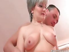 Big boobed nasty blonde MILF whore part1 tube porn video