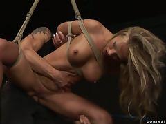 Bondage, BDSM, Big Tits, Blonde, Bondage, Couple