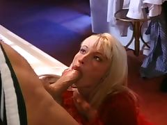 Banging, Banging, Blonde, Blowjob, Close Up, Cum in Mouth