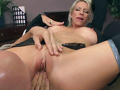 Emma Starr is riding on long dick of Johnny Sins tube porn video