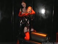 Dominant Anastasia Pierce Punishing Madison Young with a Strapon Fuck