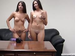 Audition, Amateur, Audition, Backroom, Pussy, Threesome