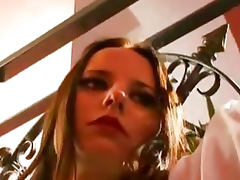 The Dominatrixes Become The Slaves Ready To Suck And Serve bdsm bondage slave femdom domination porn tube video