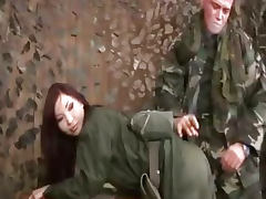 Bdsm on female army recruit tube porn video