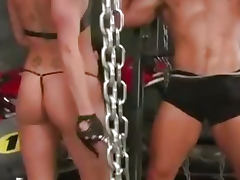 Katarina Kat is a gorgeous glove wearing dominatr tube porn video