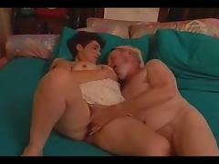 Old couple are going back to good old times tube porn video