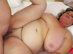 BBW, BBW, Fat, Pussy, Moaning, Fat Granny