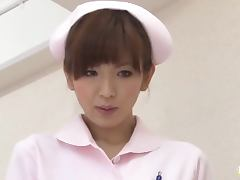 Mai Hanano is a Smokin' Hot Nurse Giving a Gentle Tug tube porn video