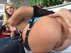 Threesome in latex corsets stockings and gloves tube porn video
