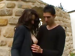 French amateur anal young student