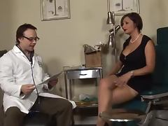 Doctor, Big Tits, Blowjob, Doctor, Fingering, Handjob