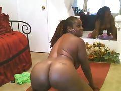 mature ebony on webcam tube porn video