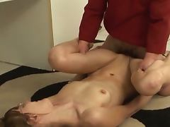 Bored housewive gets banged by a midget