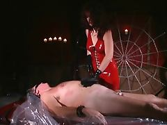 BDSM, BDSM, Femdom, Latex, Wrapped Bondage