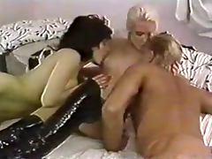 Vintage Hairy Threesome
