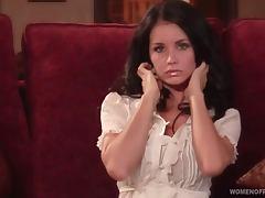 Brandi Bryant the hot brunette girl shows her hot boobs