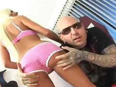 Busty bond babe Britney Amber gets banged by Spyder Jonez