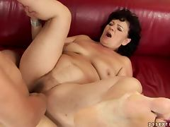 Helena May gets her pussy licked and pounded every which way