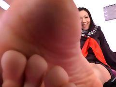Asian Foot Goddess tube porn video