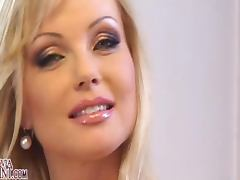 Mesmerizing Czech Blonde Beauty Silvia Saint Masturbates porn tube video