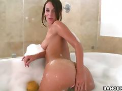 Jada stevens display her juicy and round butt tube porn video