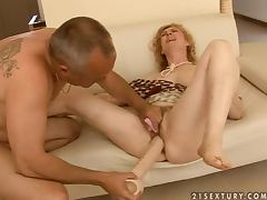 Blonde, Blonde, Couple, Fisting, Hairy, Pussy