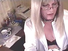 An old Joanne Cam Show tube porn video