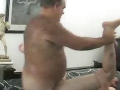 Mature man hard fuck young boy